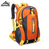 40L Outdoor Hiking Camping Waterproof Nylon Backpack