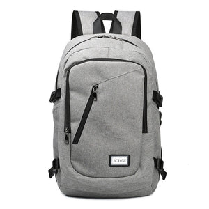 Scione USB Charging Waterproof Backpack