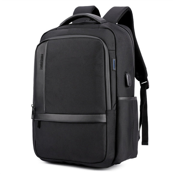 Business Style Charging USB Waterproof Backpack