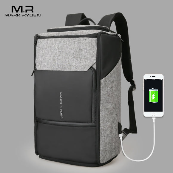 Mark Ryden USB Charging Large Capacity Backpack