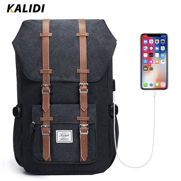 KALIDI Backpack Fits 15.6-17.3 inch Laptop