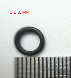 100pcs/bag 3.1mm 3.7mm Carp Fishing Round Rig Ring fishing tackle accessories Quick change O rings