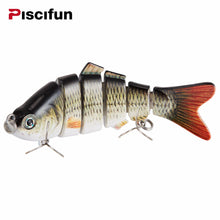 Fishing Lure 10cm 20g 3D Eyes 6-Segment Fishing Hard Lure