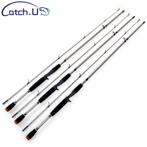 3.3-20g 6-15LB M Action Spinning Fishing Rod EVA Handle Silver Carbon Travel Casting Lure Fishing Pole