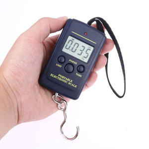 40kg x 10g Mini Digital Scales for Fishing Portable