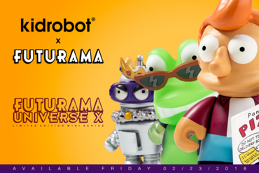 Futurama Universe X Mini Series by Kidrobot