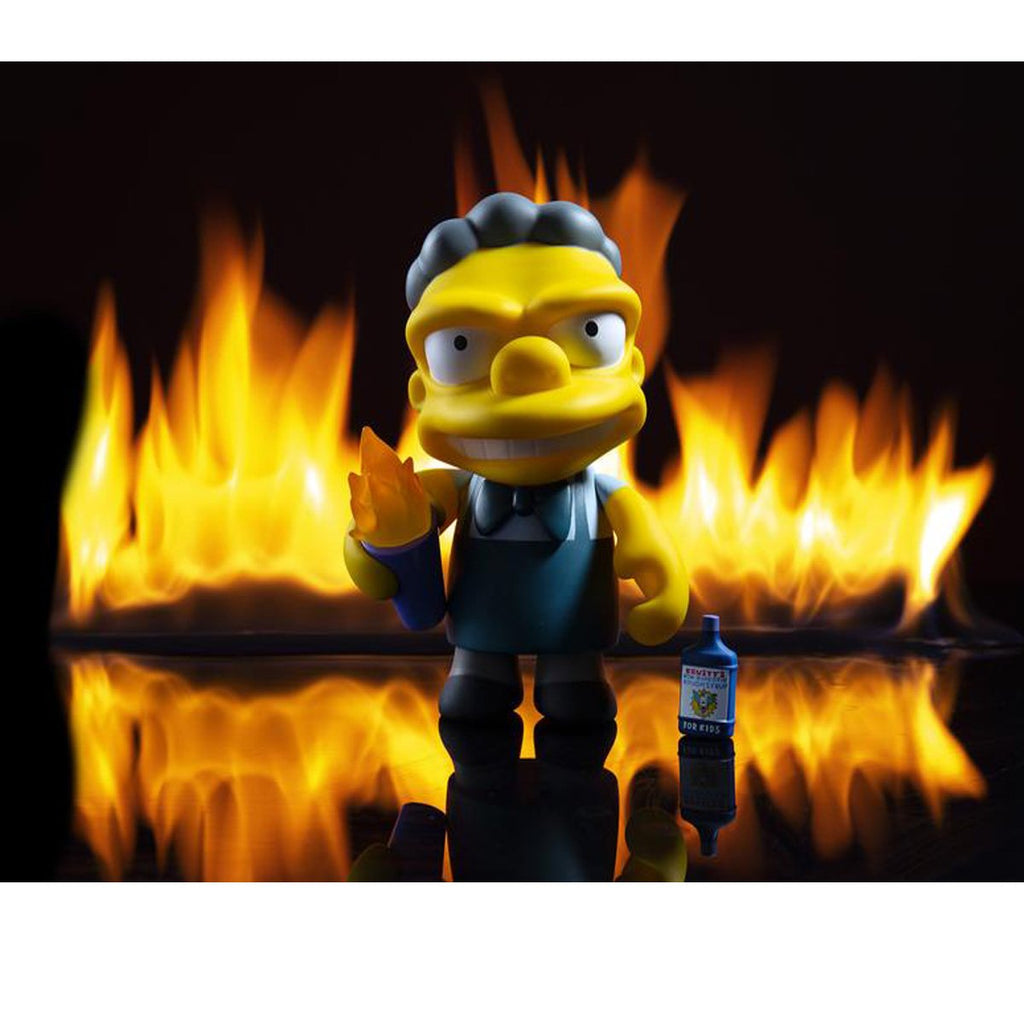 Now in Stock: Flaming Moe's by Kidrobot!