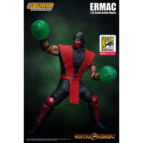 Now in Stock: SDCC Exclusive Ermac - Mortal Kombat 1:12 Action Figure by Storm Collectables