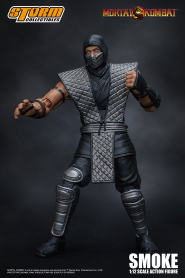 Coming Soon: Smoke - Mortal Kombat 1:12 Action Figure by Storm Collectables