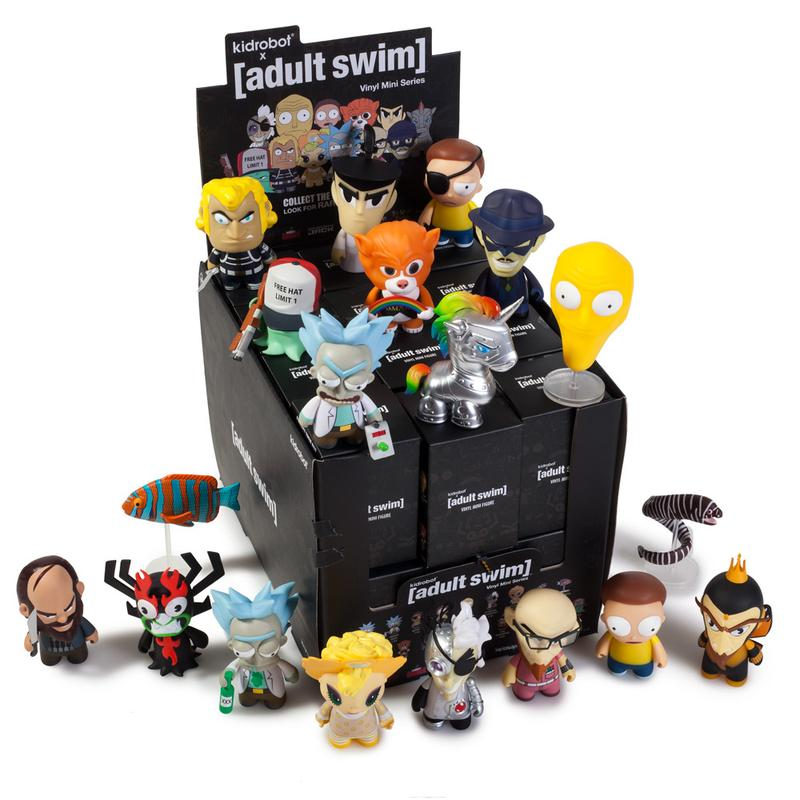 New Adult Swim Mini Figures by Kidrobot