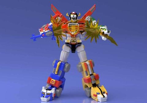 Now in Stock: SDCC 2018 Exclusive - Voltron Shokugan Super Mini-Pla by Bandai