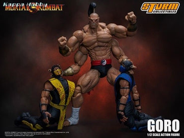 Now Available: Goro - Mortal Kombat 1:12 Action Figure by Storm Collectables