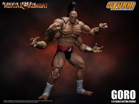 Now Available Goro Mortal Kombat 1 12 Action Figure By Storm Collec