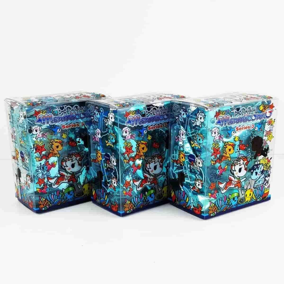 Mermicorno Series 3 Blind Box (3 Pack) by TokiDoki - iamRetro.com