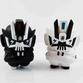 Black & White Combo Nano TEQ63 by Quiccs x Devil Toys Ltd. - iamRetro.com