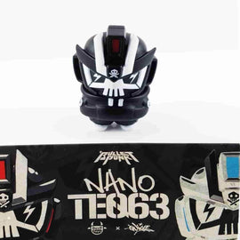 Black Nano TEQ63 by Quiccs x Devil Toys Ltd. - iamRetro.com