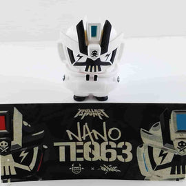 White Nano TEQ63 by Quiccs x Devil Toys Ltd. - IamRetro.com