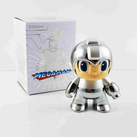 "Mega Man 3"" Silver Chrome 30th Anniversary NYCC Exclusive by Kidrobot - iamRetro.com"