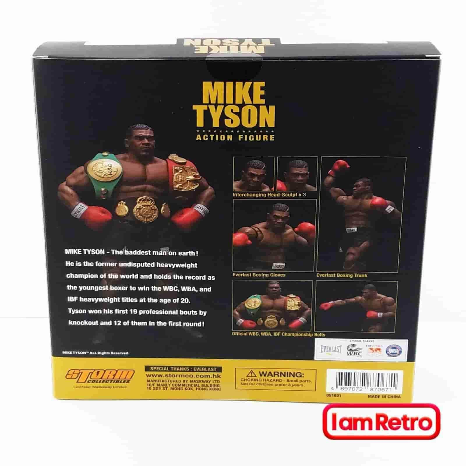 Mike Tyson 1/12 Scale Action Figure by Storm Collectibles In Stock