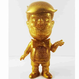 Donald T. Rich Gold Glitter by SFBI Popaganda Ron English - iamRetro.com
