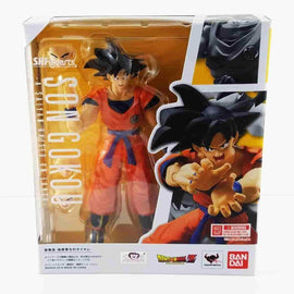 Son Gokou Raised On Earth Action Figure Dragon Ball S.H. Figuarts by BANDAI