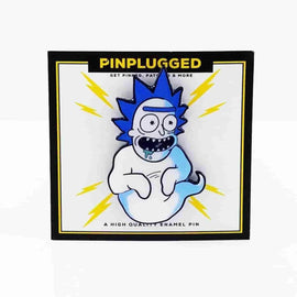 Kamikaze Rick x Dragon Ball Inspired Enamel Pin by Pin Plugged - IamRetro