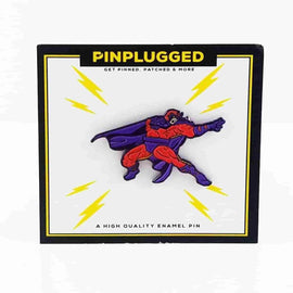 Magneto (Earth-616) Enamel Pin by Pin Plugged - iamRetro.com