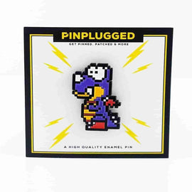 Rex Enamel Pin by Pin Plugged