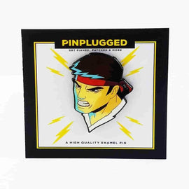 Ryu Street Fighter Enamel Pin by Pin Plugged