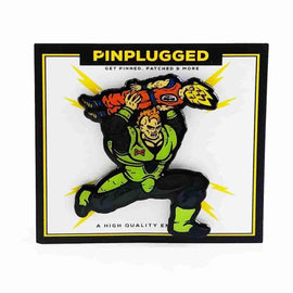 Android 16's Power Dunk - Dragon Ball Enamel Pin by Pin Plugged - IamRetro