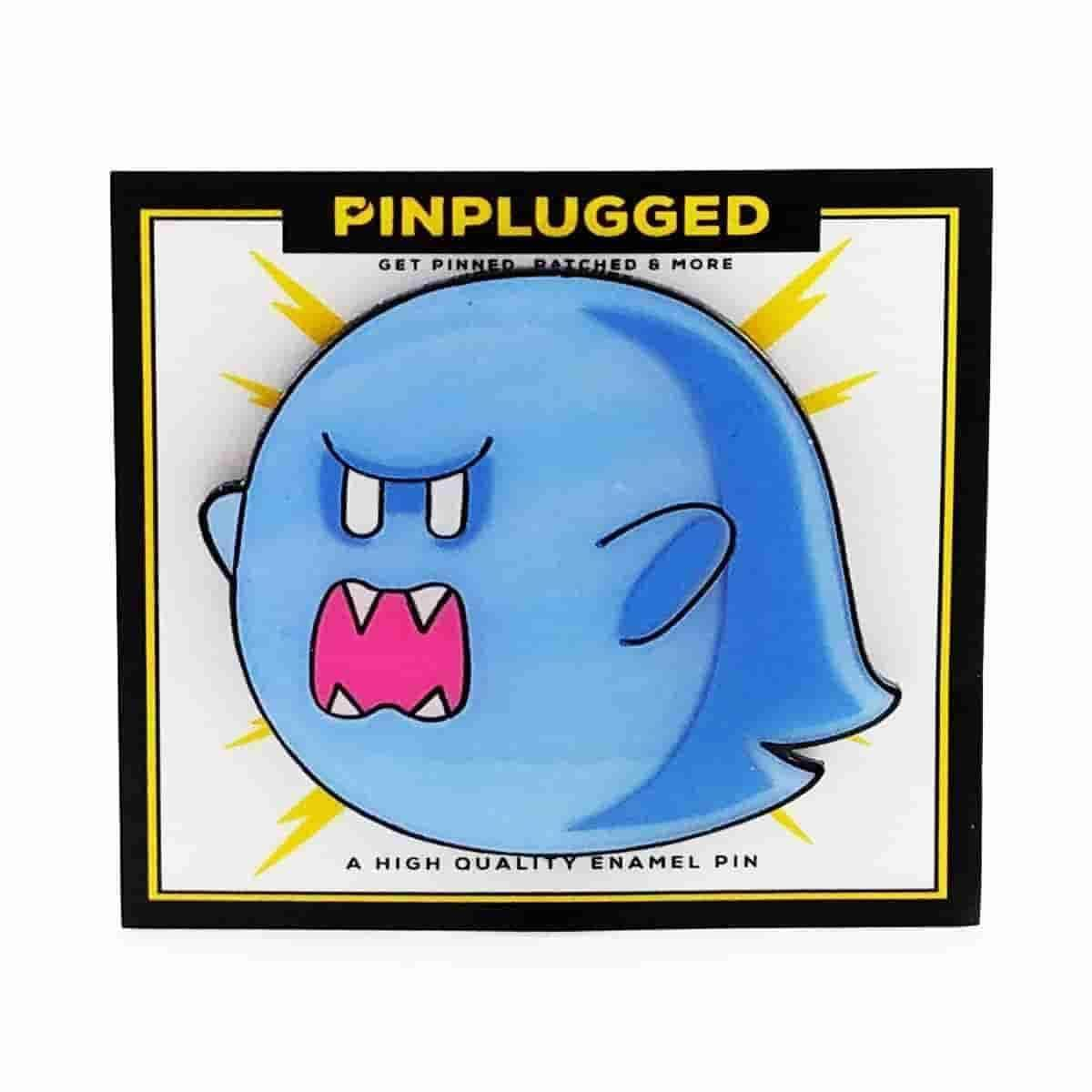 Big Boo Enamel Pin by Pin Plugged - IamRetro