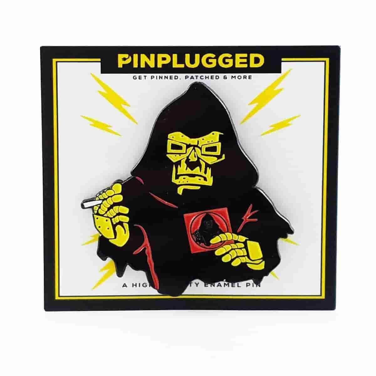 Special Herbs Doom Red Inspired Enamel Pin by Pin Plugged