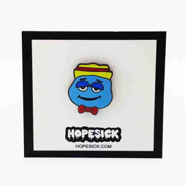 Boo Berry Cereal Monster Enamel Pin by Hope Sick
