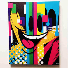 Phase-1 by Sket-One Premium Gallery Wrapped Canvas Print 16x20 IamRetro Exclusive