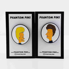Beavis and Butthead Pin Set by Phantom Pins - IamRetro