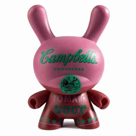 "Campbells Soup Can 8"" Masterpiece Dunny by Andy Warhol Foundation x Kidrobot - iamRetro.com"