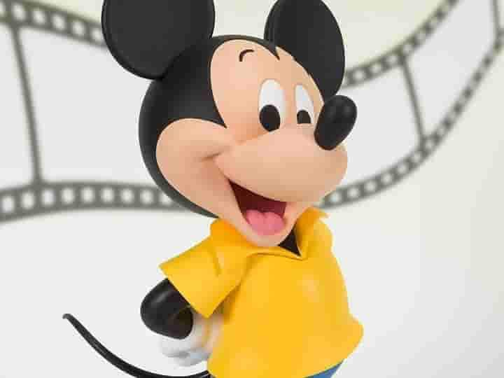 Mickey Mouse (1980's) Disney's 90th Anniversary Figuarts ZERO Mickey Mouse by Bandai