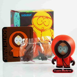 "Kenny - South Park Series - Kidrobot - 3"" Figure Brand New Mint in Box - IamRetro.com"