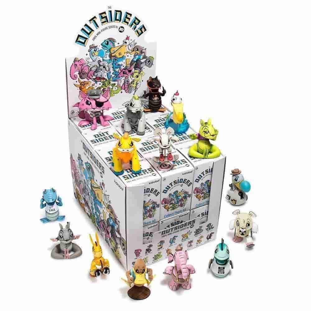 The Outsiders Mini Series Joe Ledbetter x Kidrobot Sealed Display Case 24 pcs - IamRetro.com