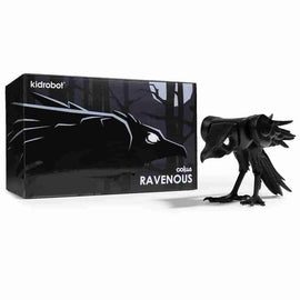 "Ravenous Art Figure -  7"" Black Resin by Kidrobot x Colus Limited to 300 Pieces"