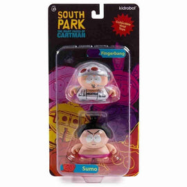 Fingerbang & Sumo 2 Pack Many Faces of Cartman South Park Series 2 - Kidrobot - iamRetro.com