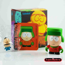 "Kyle - South Park Series 1 - Kidrobot - 3"" Figure Brand New Mint in Box - iamRetro.com"