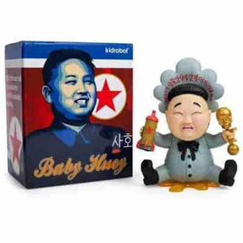 "Baby Huey Blue  7"" Medium Figure by Frank Kozik x Kidrobot"