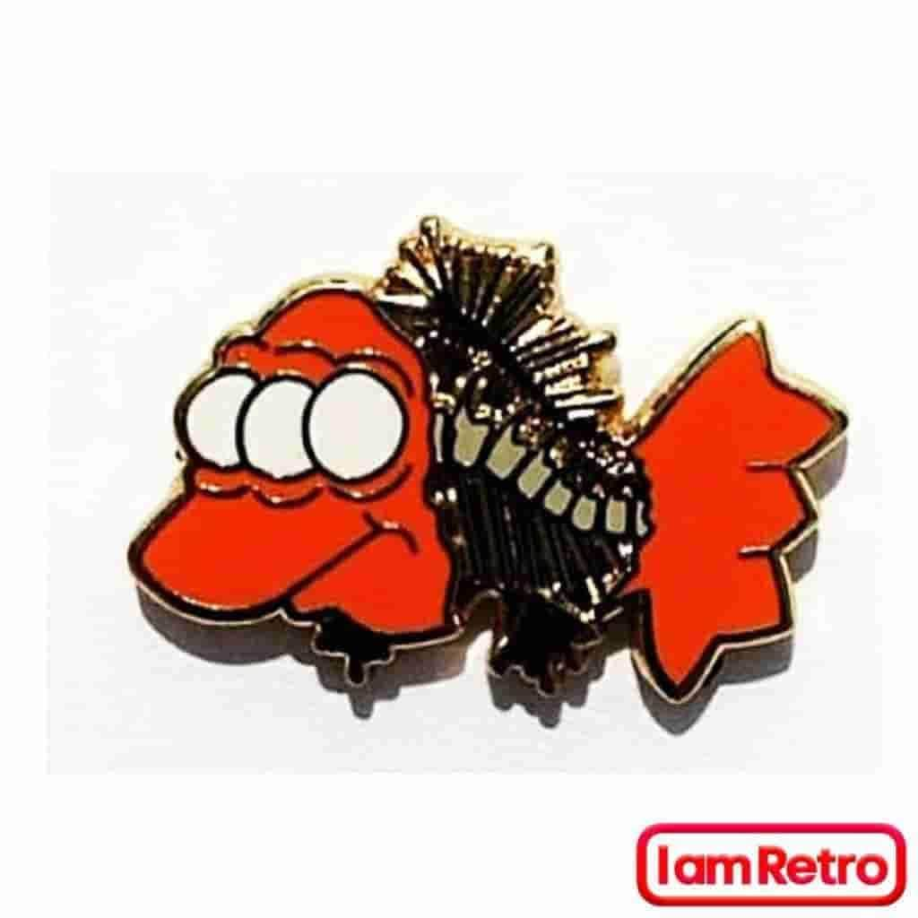 Blinky Enamel Pin from The Simpsons by Artist JesseJFR - iamRetro.com