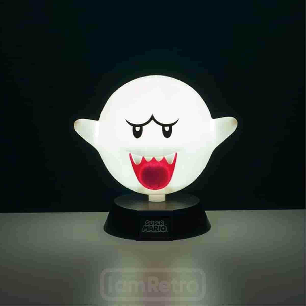 Super Mario: Boo Light Officially Licensed Nintendo Merchandise - IamRetro.com