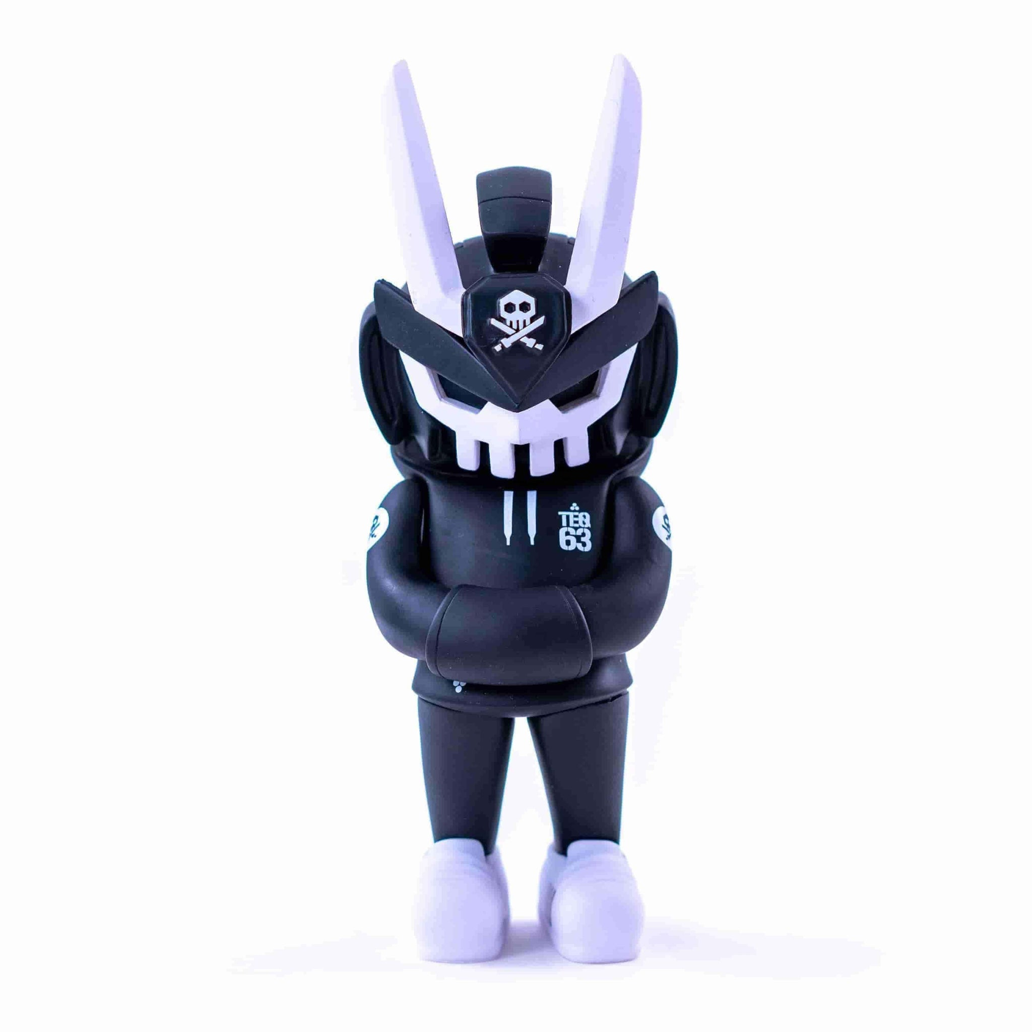 CORE EDITION TEQ 63 OG BLACK - 6 Inch Medium Figure by Martian Toys x Quiccs - IamRetro