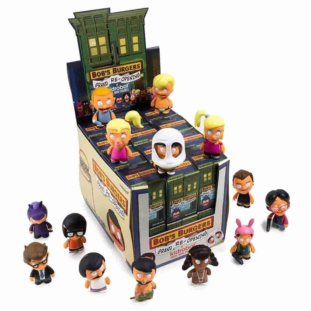 Bob's Burgers Grand Re-Opening Mini Series 24pc Case by Kidrobot - IamRetro.com