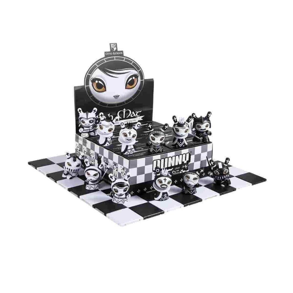 Kidrobot Knight Black Shah Mat Chess Series with Pawn Otto Bjornik