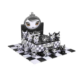 Kidrobot x Shah Mat - Dunny Chess Series Display Case - 8 Pieces - iamRetro.com