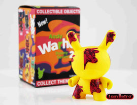 "Cow Print 3"" Mini Figure - Andy Warhol Dunny Series 2 by Kidrobot - IamRetro"
